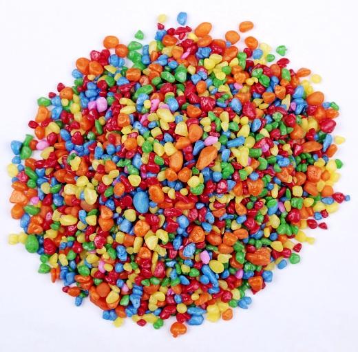 五彩石多少钱一吨报价,文德矿产染色五彩石子的用途,鹅卵石的作用