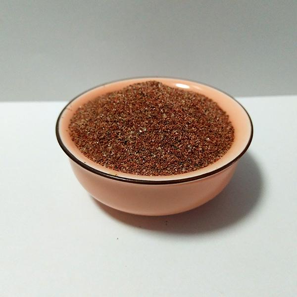 深灰烧结彩砂 珊瑚红烧结彩砂 深粉烧结彩砂 肤色烧结彩砂