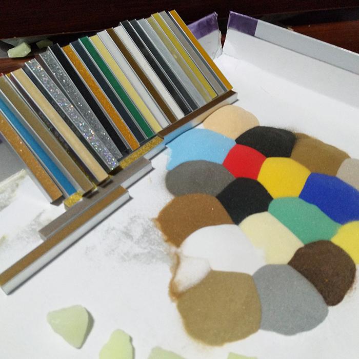 高性能 煅烧 玻璃微珠 彩色 不掉色 玻璃微珠生产厂 珍珠砂 作用