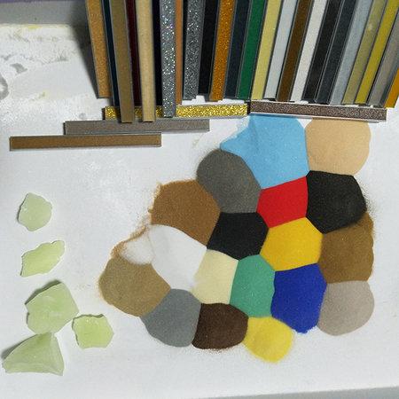 烧结玻璃微珠 美缝剂玻璃微珠 玻璃微珠大量现货