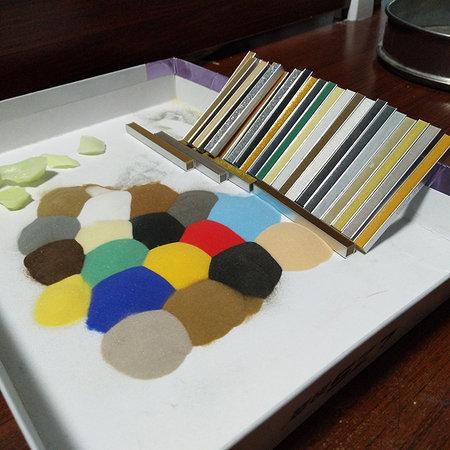 美缝剂玻璃微珠 填缝剂玻璃微珠 彩色玻璃微珠